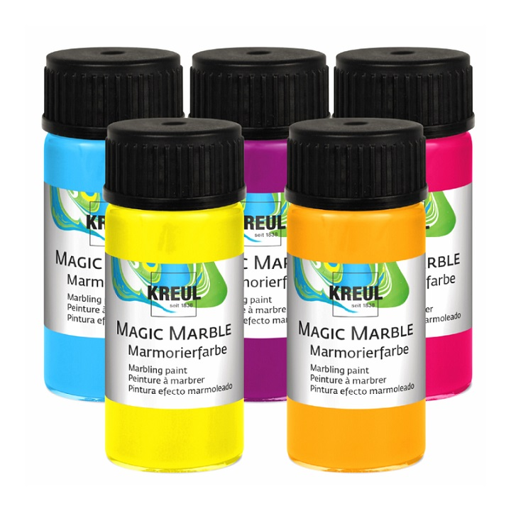 Marmorierfarbe Hobby Line Magic Marble 20 ml - Metallic Violet
