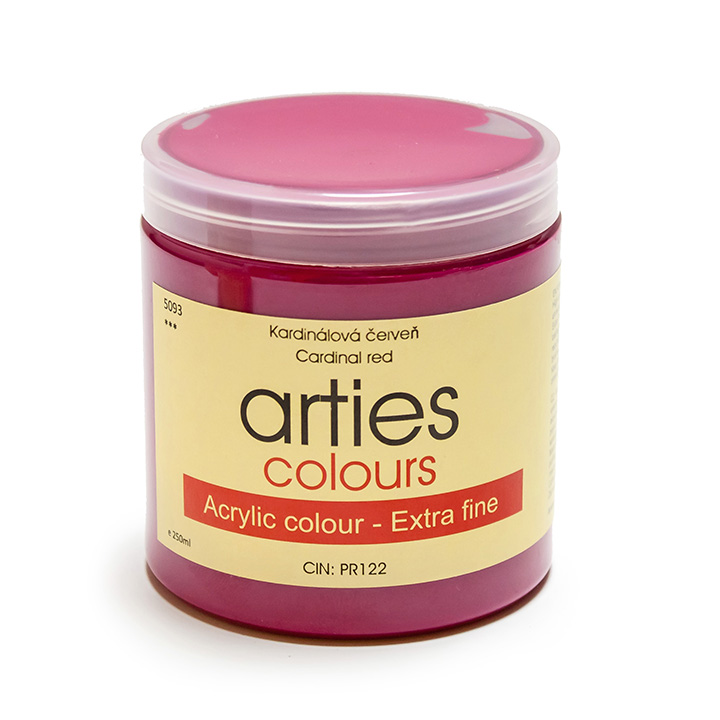 Acrylfarbe Arties Colours 250 ml - Naples Yellow Deep - Hue