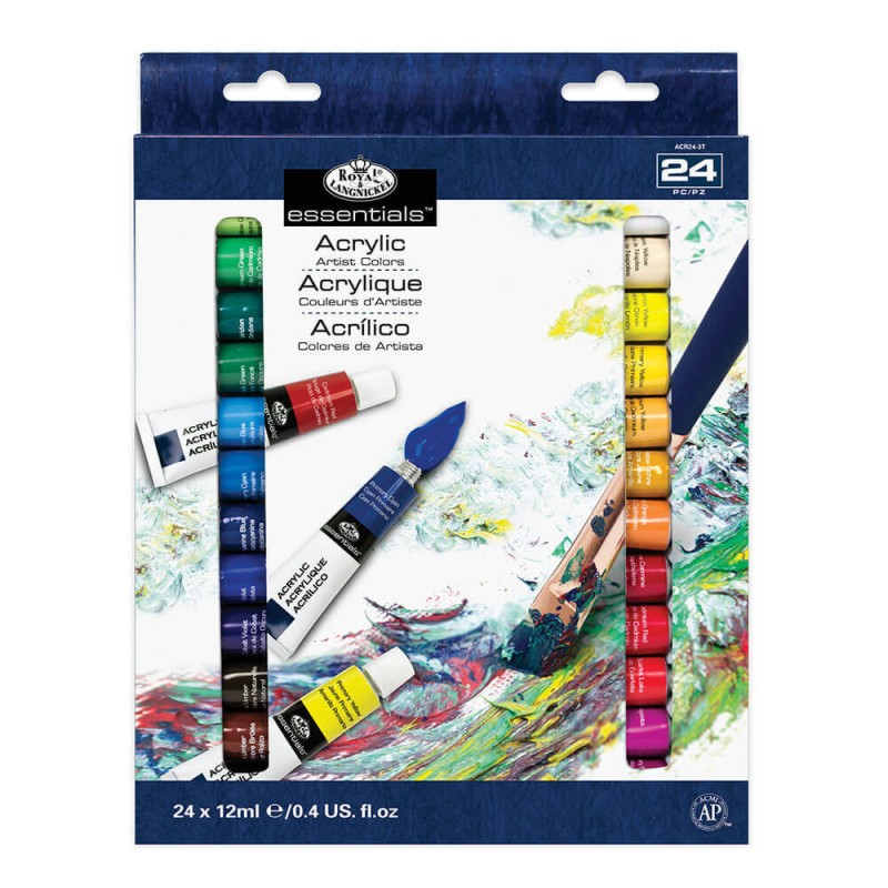 Acrylfarben-Set ARTIST Paint 24 x 12 ml