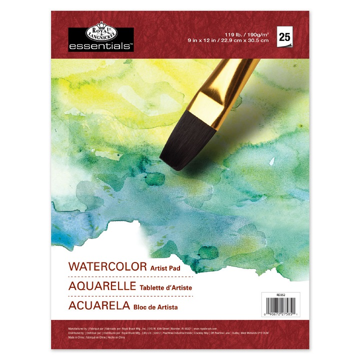 Aquarellblock Royal & Langnickel - 25 Blatt