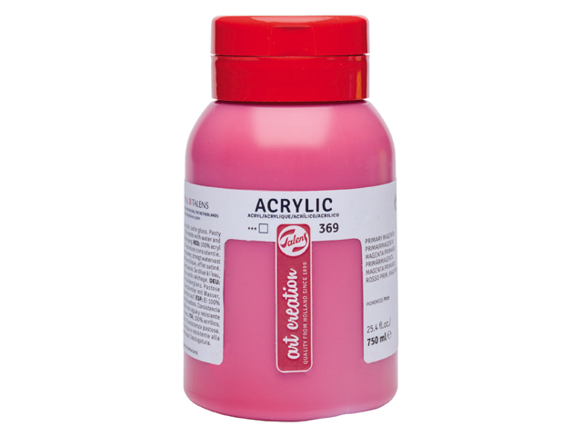 Acrylfarbe ArtCreation Essentials 750 ml - Karminrot - 318