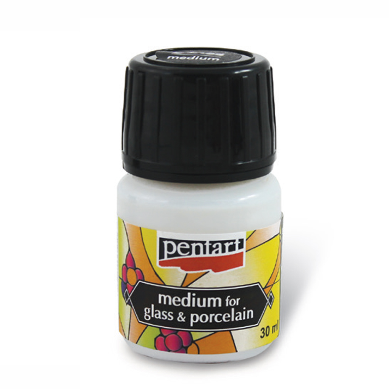 Glas & Keramikfarbe Medium Pentart 30 ml