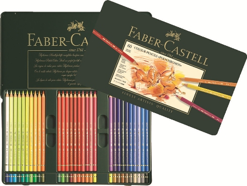 Farbstift Polychromos 60er Metalletui