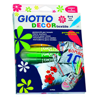 Giotto Decor Textile 12er Etui