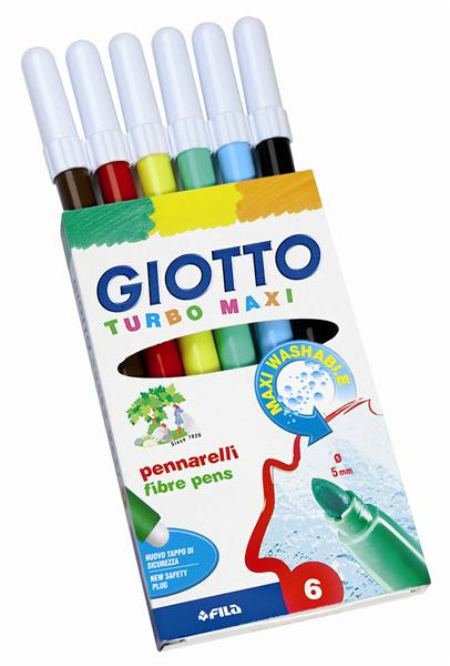 Giotto Turbo Maxi 6er Etui