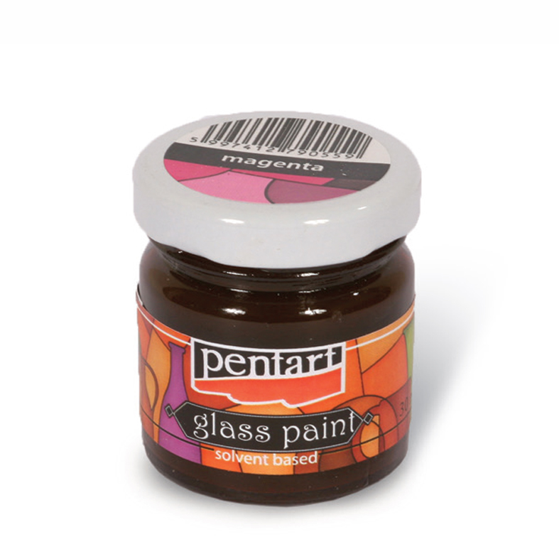 Glasmalfarbe PENTART - 30 ml - transparent
