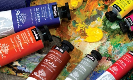 Ölfarbe PHOENIX Studio Oil Colour - 120 ml - Burnt Umber