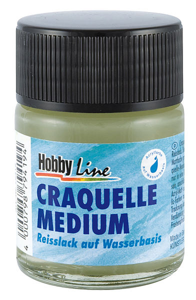 Reißlack Craquelle Medium 50 / 150 ml Hobby Line