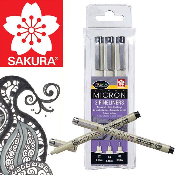 SAKURA PIGMA® MICRON Fineliner