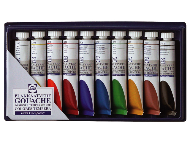 Talens Gouache Extra Fine Quality Basis-Set