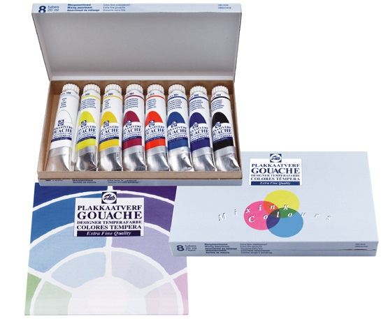 Talens Gouache Extra Fine Quality Mischset