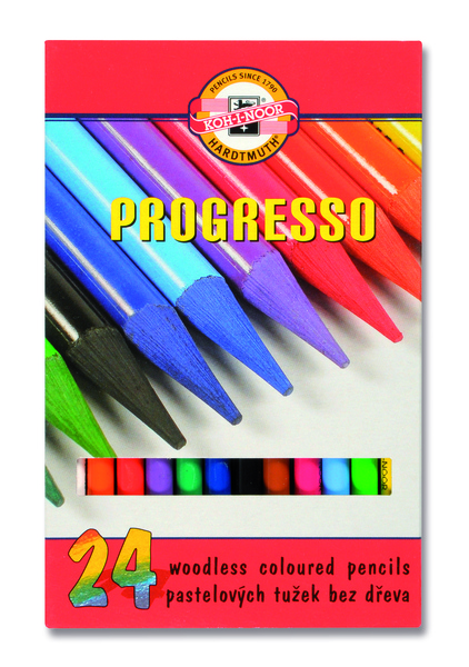 Wachspastelle PROGRESSO - 24er Set